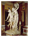 Apollo and Daphne  1622-25 (Marble)