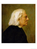 The Composer Franz Liszt (1811-86)  1884
