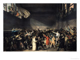 The Tennis Court Oath  20th June 1789  1791