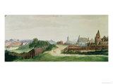 View of Nuremberg  1496-97