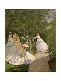 Women in the Garden  1867