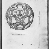 "Icosahedron  from ""De Divina Proportione"" by Luca Pacioli  Published 1509  Venice"