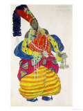 "The Great Eunuch  Costume Design for Diaghilev's Production of the Ballet ""Scheherazade "" 1910"