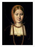 Portrait of a Woman  Possibly Catherine of Aragon (1485-1536)  circa 1503/4