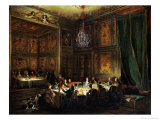 Dinner of the Prince of Conti (1717-76) in the Temple  1766