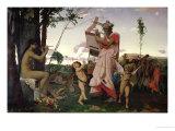 Anacreon  Bacchus and Aphrodite  1848