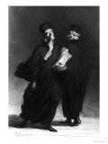 Two Lawyers  circa 1862