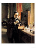Louis Pasteur (1822-95) in His Laboratory  1885