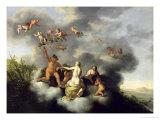 Ceres  Bacchus  Venus and Cupid