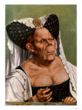 A Grotesque Old Woman  Possibly Princess Margaret of Tyrol  circa 1525-30