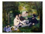Dejeuner Sur L'Herbe  1863