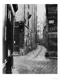 Impasse Des Bourdonnais  from Rue De La Limace  Paris  1858-78