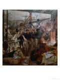 Industry of the Tyne: Iron and Coal  1861