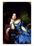 Portrait of Amalia De Llano U Dotres (1821-74)  Countess of Vilches  1853
