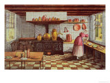 Kitchen of the Hotel StLucas  in the Hoogstraat  Rotterdam  1834