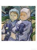 Two Little Girls  c1890