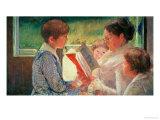 Mrs Cassatt Reading to Her Grandchildren  1888