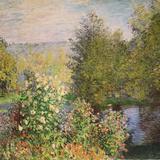 A Corner of the Garden at Montgeron  1876-7