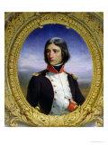Napoleon Bonaparte (1769-1821) as Lieutenant Colonel of the 1st Battalion of Corsica  1834