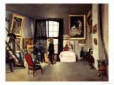 The Artist's Studio  1870