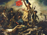Liberty Leading the People  28 July 1830