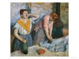 The Laundresses  circa 1884
