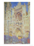 Rouen Cathedral at Sunset  1894