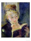 Girl Reading  1874
