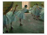 Dancers at Rehearsal  1875-1877