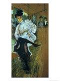 Jane Avril (1868-1943) Dancing  circa 1892