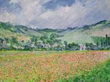 The Poppy Field Near Giverny  1885