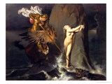 Ruggiero Rescuing Angelica  1819