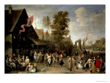 The Consecration of a Village Church  circa 1650