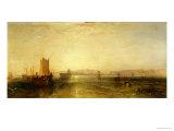 Brighton from the Sea  circa 1829
