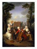 The Music Party  Frederick  Prince of Wales and His Sisters  circa 1733