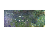 Waterlilies: Morning  1914-18 (Right Section)
