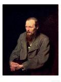 Portrait of Fyodor Dostoyevsky (1821-81) 1872