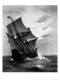 The Mayflower  Engraved and Pub by John A Lowell  Boston  1905