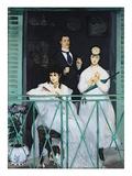 The Balcony  1868-9