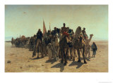 Pilgrims Going to Mecca  1861