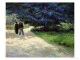 Couple in the Park  Arles  c1888