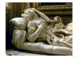 Death of the Blessed Ludovica Albertoni  from the Altieri Chapel  1674