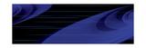 Vague d'éther bleu Reproduction d'art par Rabi Khan