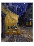 Terrasse de café la nuit Giclée par Vincent Van Gogh