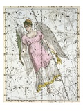 The Constellation Virgo from A Celestial Atlas