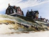 Cottages de Wellfleet Giclée par Edward Hopper