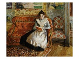Jeanne Pissarro  Reading