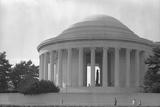 Jefferson Memorial with Profile of Statue of Jefferson