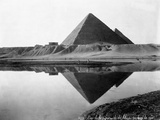 Pyramid of Cheops Reflected in Nile River