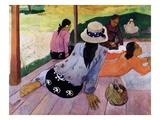 La sieste Giclée par Paul Gauguin